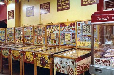 What arcade games looked like before video games, 1968