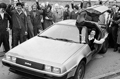 The paradoxical history of the iconic DeLorean, 1980-1984