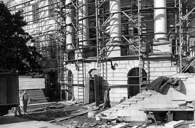 When White House had to be completely gutted, 1949-1952