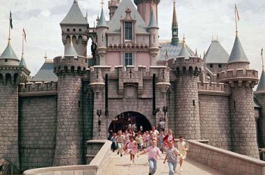 Disneyland's historical opening day, 1955