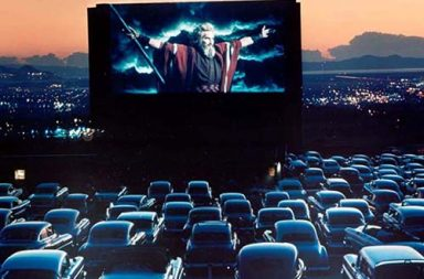 The days of the drive-in movie theaters, 1930-1950