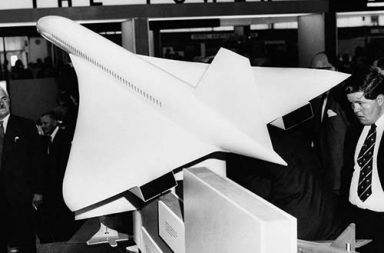 Creating Concorde, the first supersonic passenger jet, 1964-1969