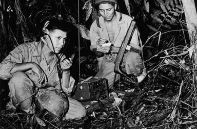 The Navajo Code Talkers and their unbreakable code, 1942-1945