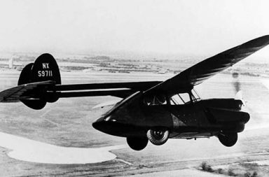 The weird history of flying cars, 1920-1970