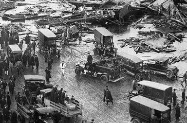 When Boston was hit by a bizarre deadly wave of molasses, 1919