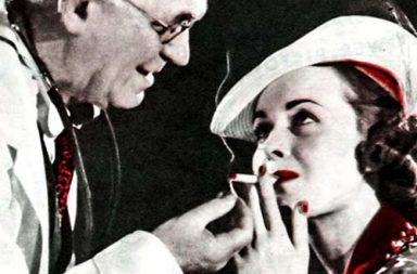 "When doctors advised ""healthy"" cigarette brands, 1930-1950"