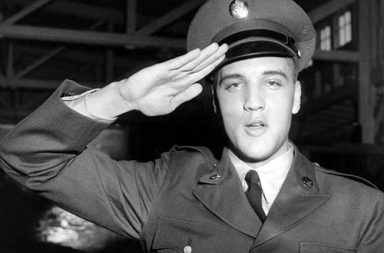 When Elvis Presley joined the Army, 1958
