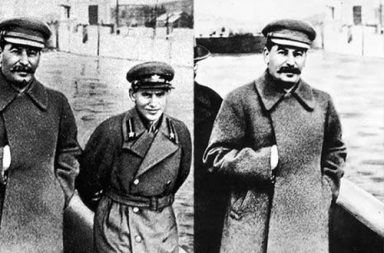 How Stalin's propaganda machine erased people from photographs, 1922-1953