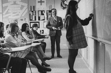 Fighting teen pregnancy in a small town high school, 1971