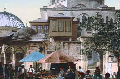 Spectacular color views of Constantinople, 1890