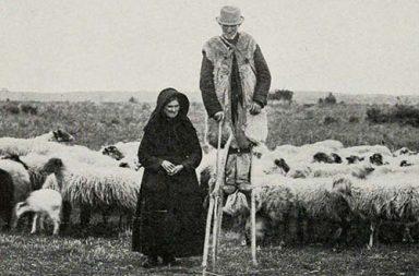 The stilt-walking shepherds of France's grasslands, 1843-1937