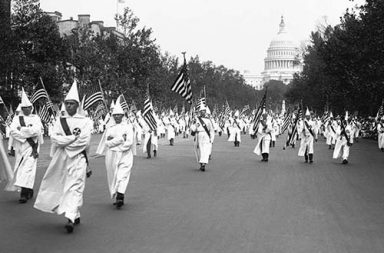 When the KKK marched on Washington, 1926