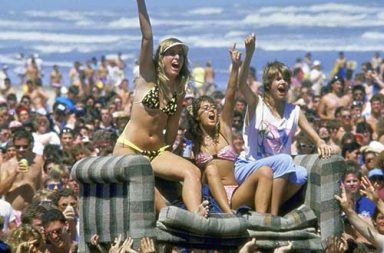This is how Spring Break looked like in the 1980's