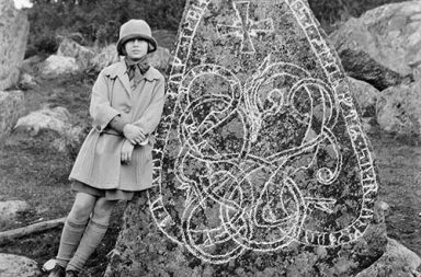 The impressive Viking runestones of the Swedish countryside, 1899-1945
