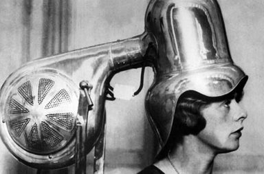 When the early hairdryers looked like crazy robots, 1910-1930