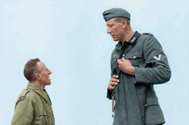Jakob Nacken, the tallest German soldier of Second World War, 1944