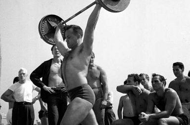 The original Muscle Beach, 1949