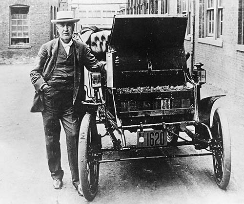 The story in pictures of the first electric cars, 1880-1920