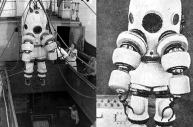 The story of early diving suits, 1900-1935