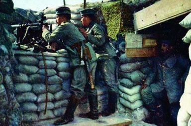 Hans Hildenbrand: The German front in rare color photos, 1914-1918