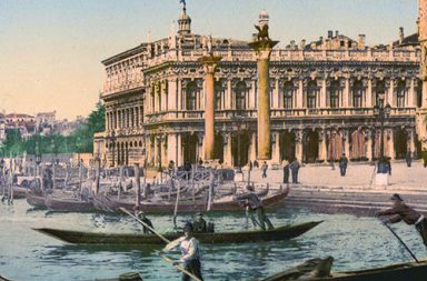 Venice in beautiful old color images, 1890