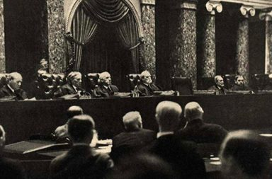 Illegal photos taken inside the US Supreme Court in session, 1932-1937