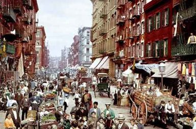 Dreamy photochroms of New York City, 1900s