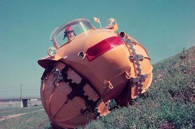 The Rhino: a bizarre experimental all-terrain vehicle, 1954