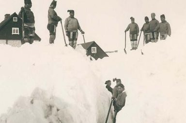 The harsh life in Greenland, 1888-1907