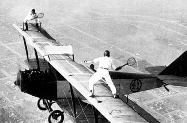 The original wing walkers who defied death, 1920-1980