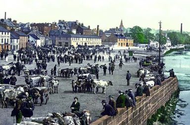 Old color photographs of Scotland, 1890s
