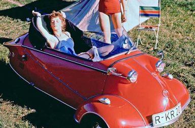 Messerschmitt KR200, the stylish bubble car of 1950s