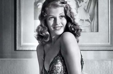 Rita Hayworth's iconic pin-up photos, 1941