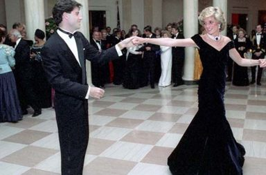 The story behind Princess Diana and John Travolta's iconic dance, 1985
