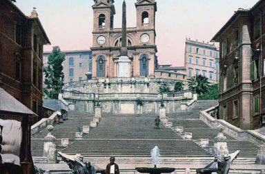 Old color photographs of Rome, 1890s