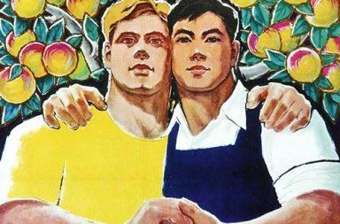 The unintentionally homoerotic Chinese-Soviet communist propaganda posters, 1950-1960