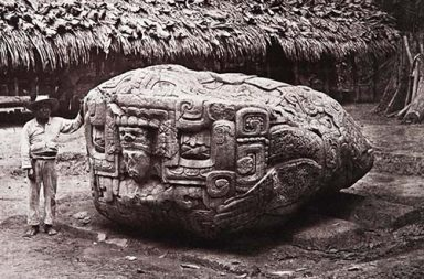 Vintage photos documenting the discovery of Maya ruins, 1880-1900