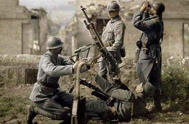 Color photos of the French army during the Great War, 1914-1918