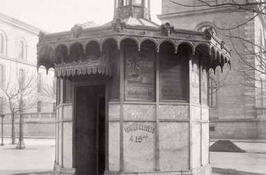 Pissoirs: The vintage public urinals of Paris, 1865-1875