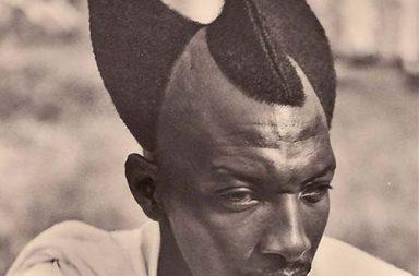 The amazing traditional Rwandan hairstyle of Amasunzu, 1920-1930