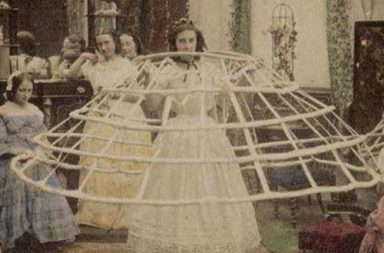 The crinoline fashion trend that killed thousands of women, 1855-1870