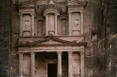 Old color images of Petra and southern Jordan, 1900-1940