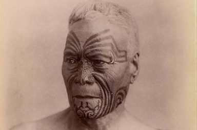 Vintage portraits of the last traditionally tattooed Maori women before the Ta Moko' tattoos were outlawed by British colonialists, 1890-1910