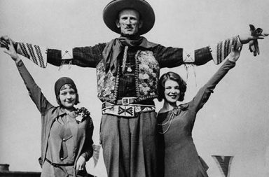 """The story of Ralph """"Tex"""" Madsen also known as the Tallest Cowboy, 1920"""